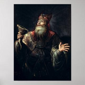 El profeta Samuel Poster