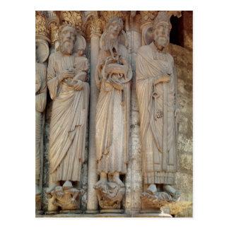 El profeta Simeon, St. John el Bautista Tarjeta Postal