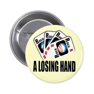 El programa de carreras - una mano perdidosa pins