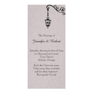 El programa fácil grande del boda tarjetas publicitarias a todo color