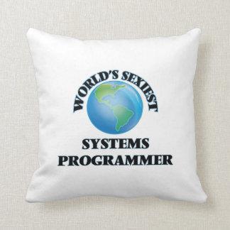 El programador más atractivo del mundo almohadas