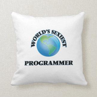 El programador más atractivo del mundo cojines
