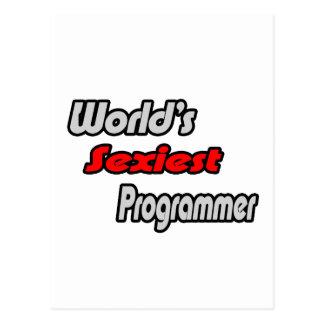 El programador más atractivo del mundo tarjeta postal