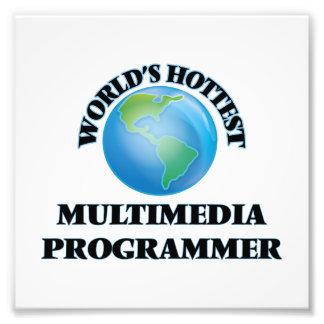El programador más caliente de las multimedias del foto