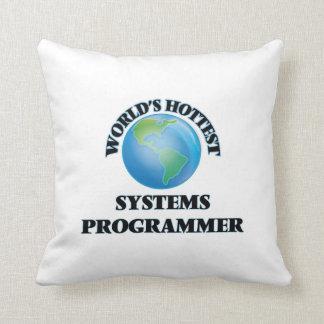 El programador más caliente del mundo cojin