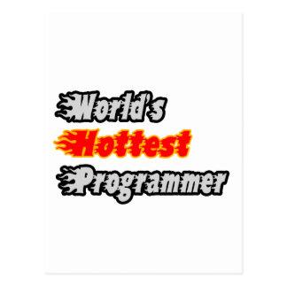 El programador más caliente del mundo postales