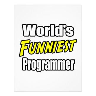 El programador más divertido del mundo tarjeta publicitaria