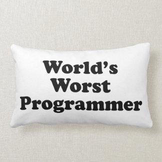 El programador peor del mundo cojin