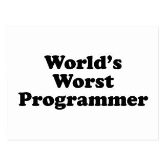 El programador peor del mundo postales