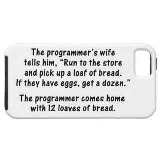 El programador y su esposa - en segundo lugar en iPhone 5 funda