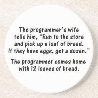 El programador y su esposa - en segundo lugar en u posavasos manualidades
