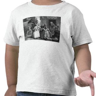 El progreso de un Harlot Camiseta