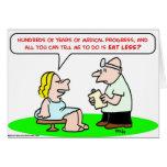 el progreso médico come menos tarjetón