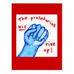 El proletariado de la justicia social de la sublev postal