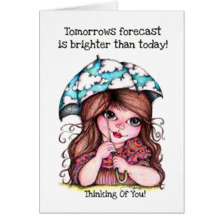 ¡El pronóstico de las mañanas es más brillante que Tarjetas