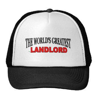 El propietario más grande del mundo gorras de camionero