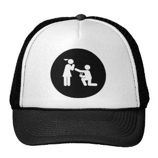 El proponer gorras de camionero