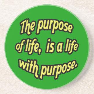 El propósito de la vida posavasos cerveza