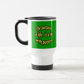 El propósito de la vida tazas