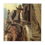 El proscrito admirable por NC Wyeth, vaqueros del Tejas