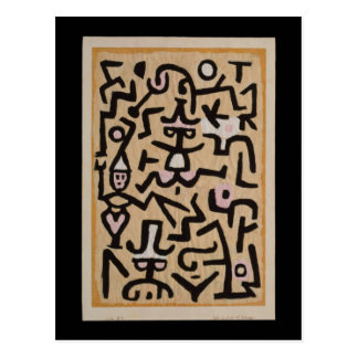 El prospecto del cómico por Klee Postales