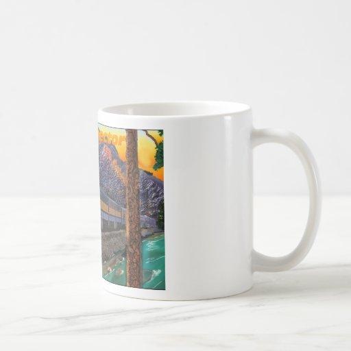 El prospector de Río Grande en la garganta real Tazas De Café