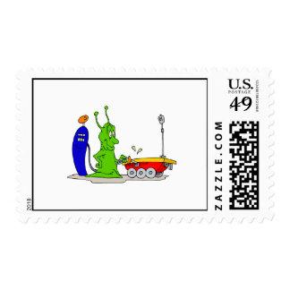 El proveer de gas encima del vagabundo sello