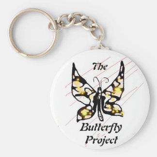El proyecto de la mariposa llavero