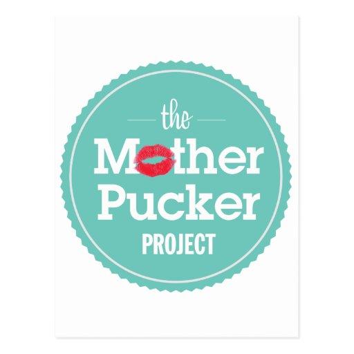El proyecto del fruncido de la madre postal