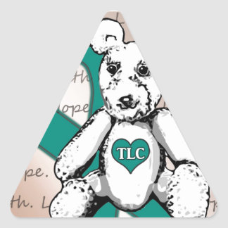 El proyecto del TLC Calcomanías De Triangulos Personalizadas
