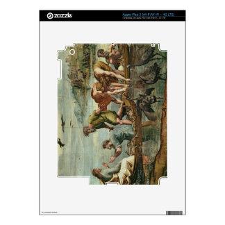 El proyecto milagroso de los pescados (dibujo anim iPad 3 pegatina skin