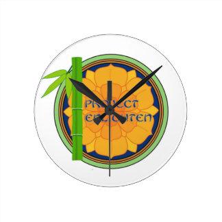 El proyecto oficial aclara mercancía relojes