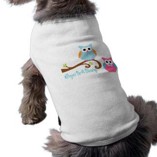 El proyecto sea una camisa del perro de la bendici playera sin mangas para perro