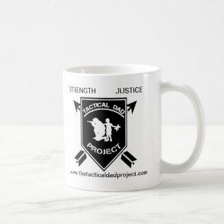 El proyecto táctico del papá tazas de café
