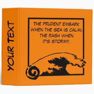 El prudentes se embarcan cuando el mar es