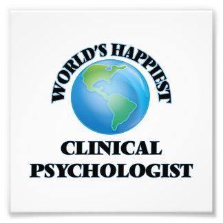 El psicólogo clínico más feliz del mundo cojinete