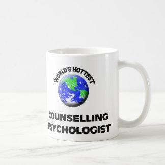 El psicólogo de asesoramiento más caliente del mun tazas de café