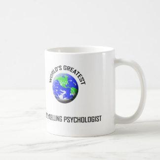 El psicólogo de asesoramiento más grande del mundo taza de café