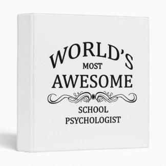 """El psicólogo más impresionante de la escuela del carpeta 1"""""""