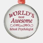 El psicólogo más impresionante de la escuela del ornato