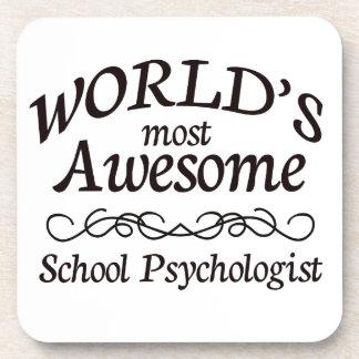 El psicólogo más impresionante de la escuela del m posavasos de bebida