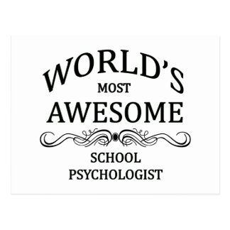 El psicólogo más impresionante de la escuela del postal
