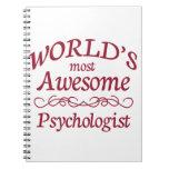 El psicólogo más impresionante del mundo libreta espiral
