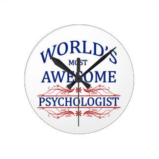 El psicólogo más impresionante del mundo reloj redondo mediano