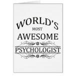 El psicólogo más impresionante del mundo tarjeton