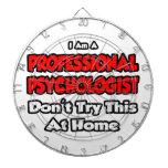 El psicólogo profesional… no intenta tabla dardos