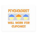El psicólogo… trabajará para las magdalenas postal