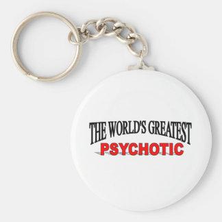 El psicópata más grande del mundo llaveros