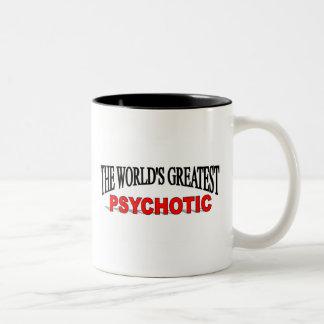 El psicópata más grande del mundo tazas de café