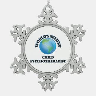 El psicoterapeuta más atractivo del niño del mundo adornos